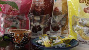 شکلات خرما مغزدار