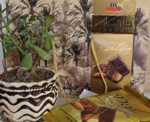 شکلات خرمایی