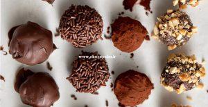 خرما شکلاتی قالبی